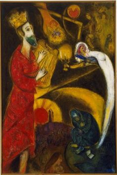 El Rey David, Chagall
