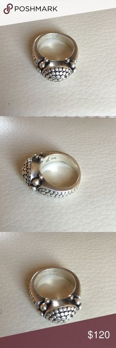 Sterling silver designer ring- Neiman Marcus Sterling silver ring size 7 Neiman Marcus Jewelry Rings