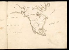 Sarah R. Akin [Allen], Untitled maps of North America, In an untitled atlas (ca. 1830), fols. 3v–4r [Osher Collection]