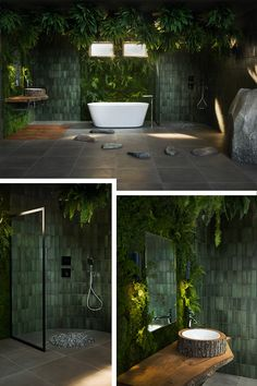 Dream Home Design, My Dream Home, Home Interior Design, Bathroom Inspiration, Home Decor Inspiration, Tropical Bathroom, Dream Bathrooms, Outdoor Bathrooms, Bathroom Design Luxury