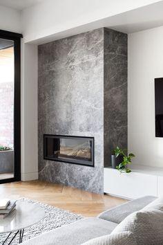 Living Room Decor Fireplace, Home Fireplace, Fireplace Remodel, Modern Fireplace, Living Room Tv, Fireplace Ideas, Barn Living, Rustic Fireplaces, Contemporary Fireplace Designs