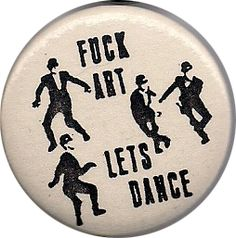 "citygardensfilm: "" In going through Randy's collection of pins I found this ska classic. """