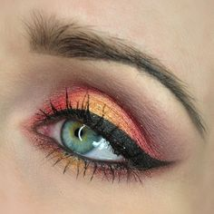 fire #eyes #cateye #eyemakeup #pretty