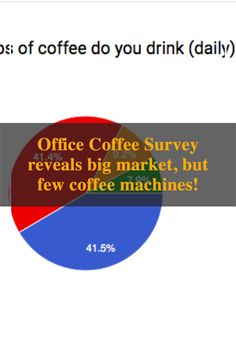 Office Coffee Survey reveals big office market, with very few coffee machines! This survey was done during the Office Expo Asia 2019, targeting 1000 professionals. In total, more than 1000 people filled up this questionnaire on coffee machine. Key learnings from this survey on coffee consumption: Number of coffee drinkers Reasons people are not drinking coffee in the office Coffee options in the office Types of coffee machines in the Office Automatic Espresso Machine, Different Coffees, Coffee Service, Coffee Machines, Drinking Coffee, Coffee Type, Coffee Drinkers, Singapore, Coffee Maker