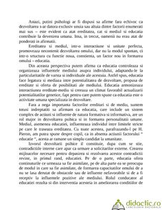 EREDITATE, MEDIU SI EDUCATIE | feliwhy | 09.05.2008