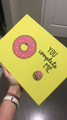 Donut Canvas Big Little Gift