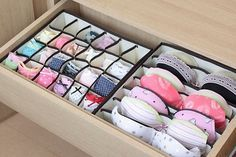 3pcs Underwear Divider Drawer Storage Box - Google Search