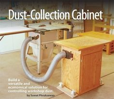 ❧ American Woodworker #156 October/November 2011 Preview Dust-Collection Cabinet - Resources - American Woodworker