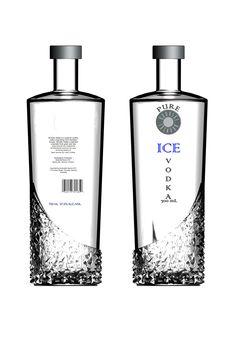 Vodka Bottle by Skye de Ruyter at Coroflot.com