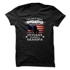 Veteran Grandpa t-shirt T-Shirts, Hoodies, Sweaters