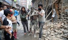 Earthquake in Nepal - in pictures
