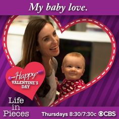 Valentine's Day Cards From Your Favorite TV Stars Valentine Day Cards, Happy Valentines Day, Life In Pieces, Baby Love, Stars, Tv, Valentine Ecards, Television Set, Sterne
