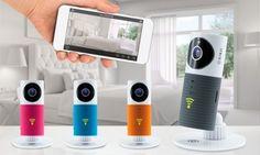 Groupon-Gutschein - Sinji Smart Wifi-Kamera in Farbe der Wahl, optional mit Verbatim 32 GB Micro SD Card(bis zu 60% sparen*). Groupon-Deal-Preis: 39,90€