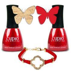 O combinatie ideala pentru sezonul rece! Comanda si fa-ti singura o manichiura de efect : Cupio One Step http://cupio.ro/cadou-sezonul-rece Pret Kit: 86 lei