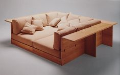 // Piero De Martini, Model 700 La Barca Sofa, for Cassina, 1975