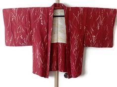 Vintage Red Silk Japanese Kimono Jacket with Grass and Flower  https://www.etsy.com/listing/535386319/vintage-red-silk-japanese-kimono-jacket #kimonooutfit #kimonocardigan #kimonofashion #haori #haorijacket #japankimono #oriental #vintagekimono #vintagehaori #kimonojacket #haorijacket #bohokimono #bohochic #asianjacket #floralprint #red #redkimono #silkkimono #japaneseprint #kimono #japanesekimono #japanesepattern #japanesetextile #kimonorobe
