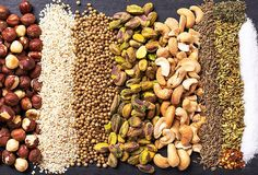 Toasted nuts and spices come together to make dukkah, the Egyptian spice blend you'll be sprinkling on everything.