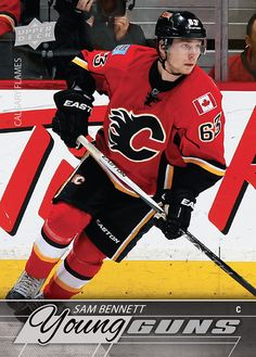 2015-16 NHL Upper Deck Series I Young Guns rookie card Sam Bennett