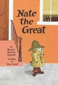 Series: Nate the Great. Some are in Early readers and some are in regular fiction.