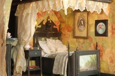 Ninette & Co beautiful bedroom Very similar to Potter's upstairs bedroom.