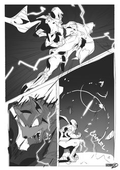 The Sacred Combo: Page 1 | Smash Comic