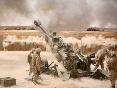 #22B — The M777 Howitzer USMC - my MOS