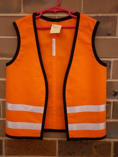 Childs Construction Workers Vest Costume By Thekidscollective