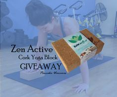 Zen Active Cork Yoga Block Giveaway Pinterest