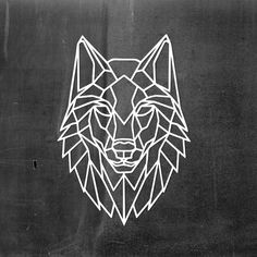 Metal Wall Art Geometric Wolf head steel Home Decor Polygonal Scandi style Animal Interior Sign Office Idea Gift Living Room hanging Geometric Wolf Tattoo, Tattoo Tribal, Geometric Drawing, Geometric Wall Art, Wolf Tattoo Design, Wolf Design, Wolf Tattoos, Galaxy Art, Tag Art