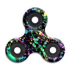 SPINNERS squad fidget toys Neon Splatter Paint