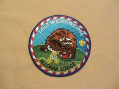 Michigan Boy Scout OA Allohak Lodge 88 R8 Last Wolverine 1994 Round Patch | eBay
