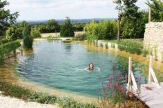 Discover all the information about the product In-ground swimming pool / stone / natural / outdoor PRINCES RISBORO BUCKS - Gartenart and find where you can buy it. Swimming Pool Pond, Natural Swimming Ponds, Natural Pond, Swimming Pool Designs, Design Fonte, Terrasse Design, Pond Design, Design Design, Garden Design