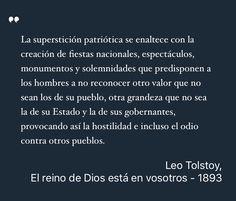 Estoy leyendo: El reino de Dios está en vosotros, Lev Tolstói #Libros #QueLeer