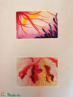A korallok különleges formái inspirációként szolgálhatnak a képzőművészetben. Ezen akvarell képek alapjait a vízi élővilágból nyertem és absztraktabb módon dolgoztam át. Igyekeztem egyfajta fantáziadús világot megteremteni. A színek nyárias hangulatot idéznek, ezáltal tökéletesen feldobják az otthoni hangulatot!  A képeket akvarellpapírra készítettem akvarelltechnikával és tussal átdolgozva. Flag, Photo And Video, Diy, Painting, Instagram, Do It Yourself, Bricolage, Painting Art, Science