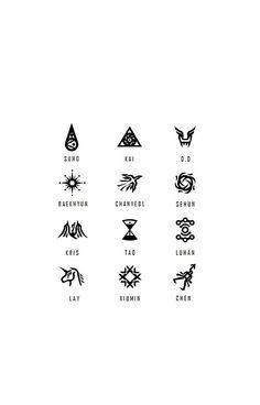EXO Symbols