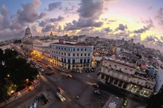 """The photo was taken from the rooftop of the NH Parque Central Hotel in the heart of Old Havana, Cuba."" - Geno Della Mattia"