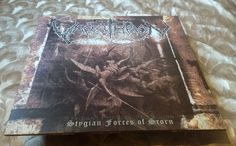 Varathron ‎– Stygian Forces Of Scorn LP (transparent clear vinyl ltd 500)   #BlackGothicMetal