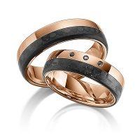 Trauringe Carbon | Ringe aus Carbon individuell konfigurieren | Trauringe 123gold