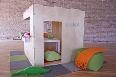 A Playhouse with Endless Possibilities! You can set it up several different ways! Your Kids will love this project!