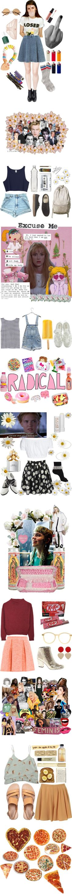 """teen dream"" by calivintage ❤ liked on Polyvore"
