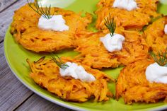 Ditch the potatoes and go for this garden-inspired version of latkes! This variation turns the traditional potato pancake on its head by featuring carrots.