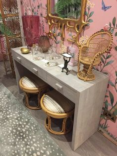 Holiday House London, An Interior Design Event With A Cause - Dressing table by Amelia Carter Interiors.JPG