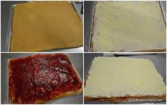 Prajitura Albinita (Dulcineea) cu foi cu miere si crema de gris | Savori Urbane Dessert Recipes, Desserts, Cheese, Food, Sweets, Tailgate Desserts, Deserts, Essen, Postres