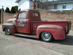 1950 FORD F1 PICKUP, RAT ROD, RATROD, STREET ROD, LOWERED, STREET MACHINE, image 3