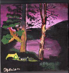 Campsite at Twilight