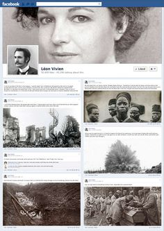 Soldier Social Media Stories - DDB Paris Introduces the Timeline of Battle in Facebook 1914 (VIDEO)