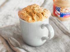 Glutenfreier Erdnussbutter-Tassenkuchen - mit 3 Zutaten -- hazelnut/chocolate??