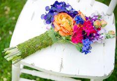 DIY Wedding Flowers DIY Briadal flower bouquets Hand-Tied Bouquet