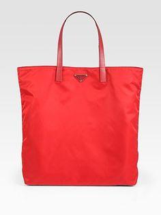 4caea3d204 Prada - Vela Nylon Tote Bag - Saks.com Cheap Handbags, Wholesale Handbags,