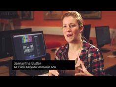Samantha Butler, BA (Hons) Computer Animation Arts, UCA Rochester - YouTube